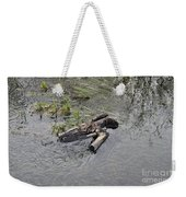 The Floating Island Weekender Tote Bag