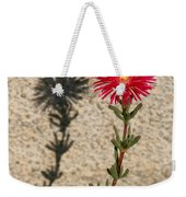 The Flower And Its Shadow Weekender Tote Bag