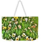 The Flower Bed Weekender Tote Bag