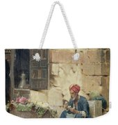 The Flower Seller Weekender Tote Bag