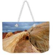The Folded Landscape Weekender Tote Bag