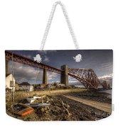 The Forth Rail Bridge Weekender Tote Bag