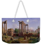 The Forum Rome  Weekender Tote Bag