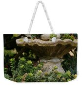 The Fountain Painterly Weekender Tote Bag