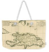 The French And Spanish Colony Of The Island Of St Dominic Of The Greater Antilles Weekender Tote Bag by Guillaume Raynal