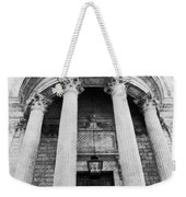 The Front Of St Paul's Cathedral Weekender Tote Bag