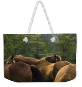 The Gathering At Ryerss Farm Weekender Tote Bag