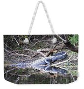 The Gator That Lives Under The Bridge Weekender Tote Bag