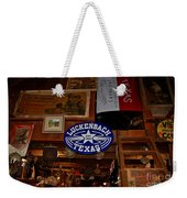 The General Store In Luckenbach Tx Weekender Tote Bag