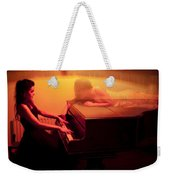 The Girl And The Ghost Weekender Tote Bag by Semmick Photo
