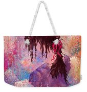 The Girl Of Many Colors Weekender Tote Bag