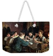 The Glass Blowers Weekender Tote Bag by Charles Frederic Ulrich