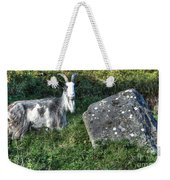 The Goat And The Stone Weekender Tote Bag