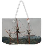 The God Speed Tall Ship Weekender Tote Bag