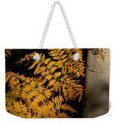 The Golden Fern Weekender Tote Bag