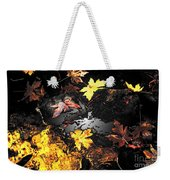 The Golden Leaves Weekender Tote Bag