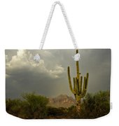 The Golden Saguaro  Weekender Tote Bag