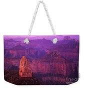The Grand Canyon North Rim Weekender Tote Bag