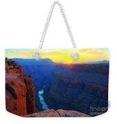 The Grand Canyon Solitude At Toroweap Weekender Tote Bag