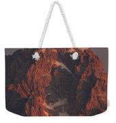 The Grand Teton At Sunrise Weekender Tote Bag