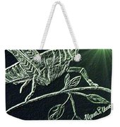 The Grasshopper Weekender Tote Bag