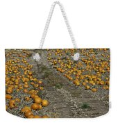 The Great Pumpkin Patch Trail Weekender Tote Bag