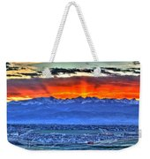 The Great Sunset Weekender Tote Bag