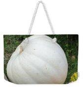 The Great White Pumpkin Weekender Tote Bag