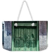 The Green Door In The French Quarter Weekender Tote Bag