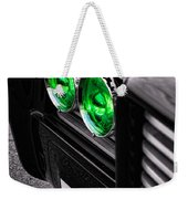 The Green Hornet - Black Beauty Close Up Weekender Tote Bag