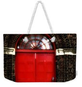 The Guitar And The Red Door Weekender Tote Bag