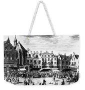 The Hague: Market, 1727 Weekender Tote Bag