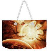 The Hand Of Destiny Nebula Is Devouring Weekender Tote Bag