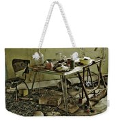 The Hand That Feeds Weekender Tote Bag