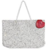 The Heart In The Sand Weekender Tote Bag