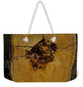 The Heart Of A Tree Weekender Tote Bag