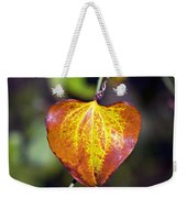 The Heart Of Autumn Weekender Tote Bag