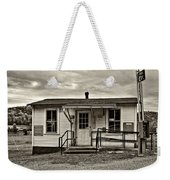 The Heart Of Glady Sepia Weekender Tote Bag