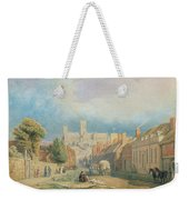 The High Street Lincoln  Weekender Tote Bag