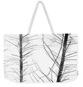 The Hirsute Trees Weekender Tote Bag