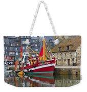 The Historic Fishing Village Of Honfleur Weekender Tote Bag