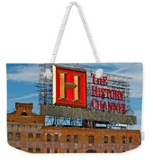 The History Channel Weekender Tote Bag