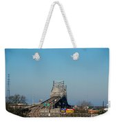 The Horace Wilkinson Bridge Over The Mississippi River In Baton Rouge La Weekender Tote Bag