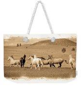The Horse Herd Weekender Tote Bag