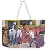 The Horse Mart  Weekender Tote Bag by Robert Polhill Bevan