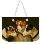 The Hounds Weekender Tote Bag
