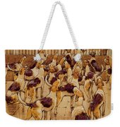 The Hounds Began Suddenly To Howl In Chorus  Weekender Tote Bag