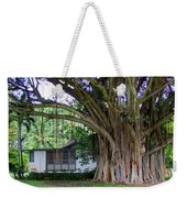 The House Beside The Banyan Tree Weekender Tote Bag