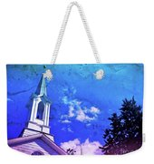 The House Of Men Under The House Of God Weekender Tote Bag