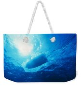 The Hull Of A Speed Boat Dingy Races Weekender Tote Bag
